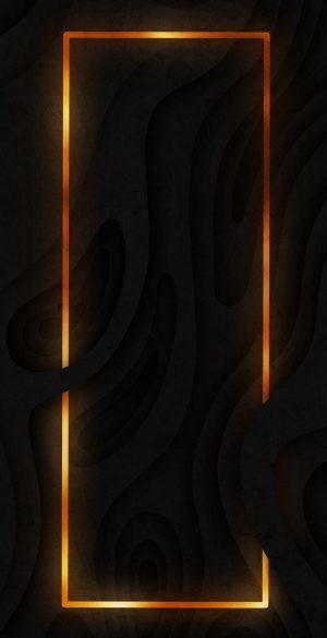 Border Neon Black Wallpaper 09 300x585 - Neon Wallpapers