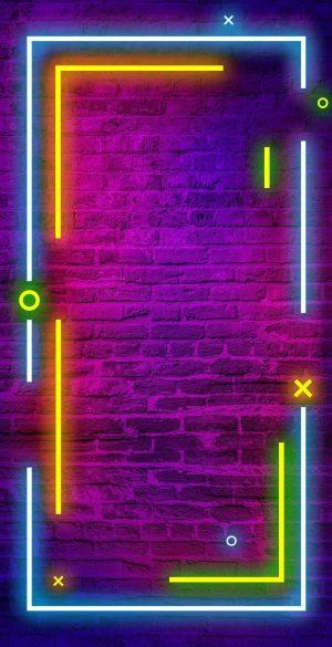 Border Neon Wallpaper 04 300x585 - Neon Wallpapers