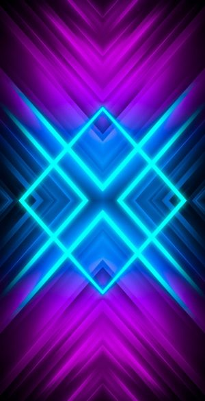 Neon 3D Phone Wallpaper 123 300x585 - Abstract Wallpapers