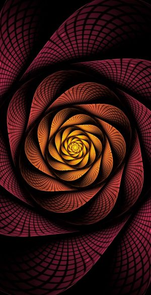 Rose 3D Phone Wallpaper 066 300x585 - Abstract Wallpapers