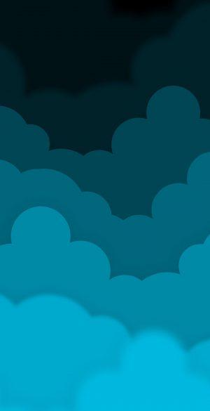 Vector Cloud Wallpaper 025 300x585 - Blue Wallpapers