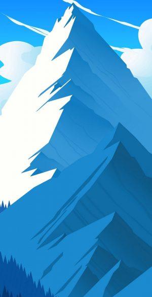 Vector Snow Mountain Wallpaper 070 300x585 - Blue Wallpapers