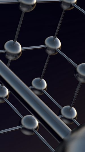 3D Atoms Shapes Models Balls HD Wallpaper 1080x1920 300x533 - 3D Wallpapers