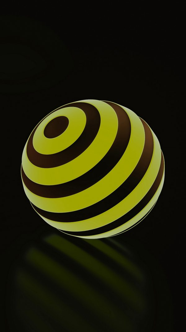 3D Balls Ball Stripes HD Wallpaper 1080x1920 600x1067 - 3D Balls Ball Stripes HD Wallpaper - 1080x1920