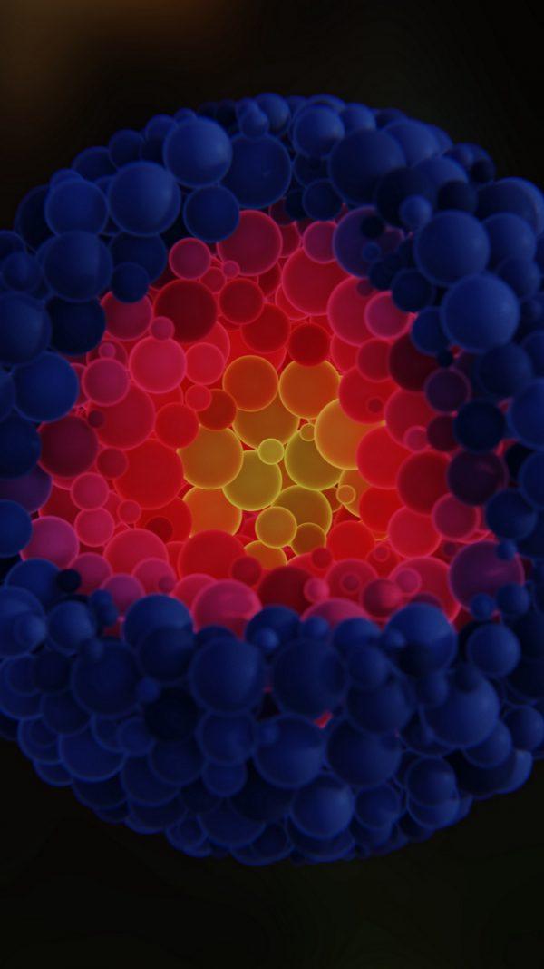 3D Balls Shapes Structure HD Wallpaper 1080x1920 600x1067 - 3D Balls Shapes Structure HD Wallpaper - 1080x1920