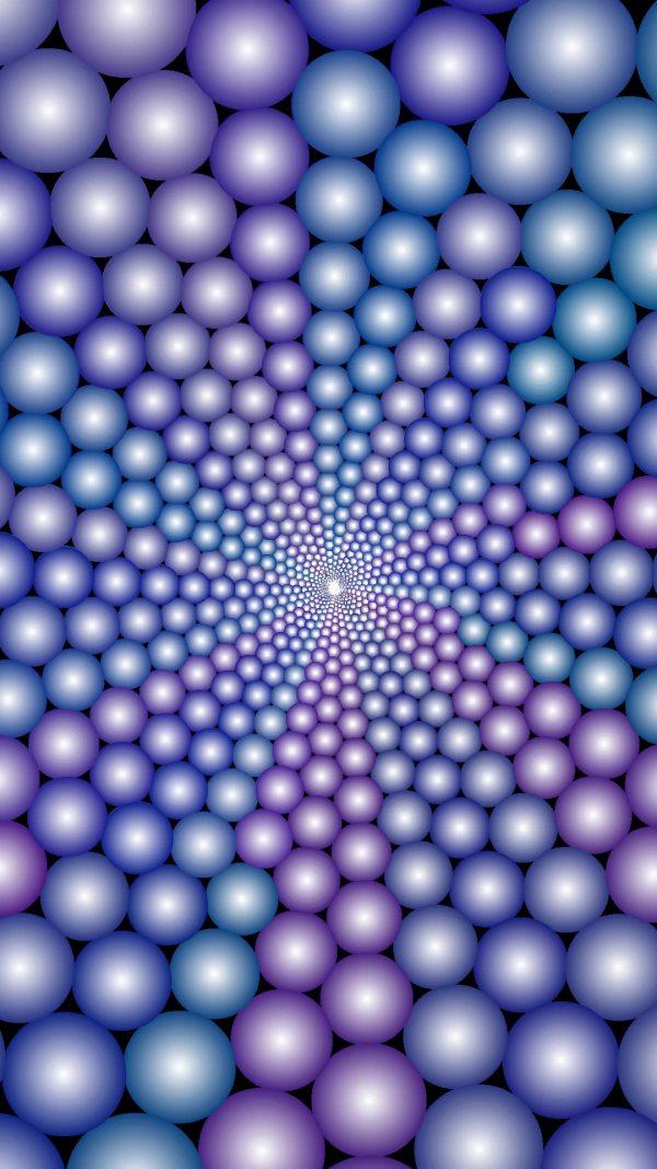 3D Circles Ball Shapes HD Wallpaper 1080x1920 600x1067 - 3D Circles Ball Shapes HD Wallpaper - 1080x1920