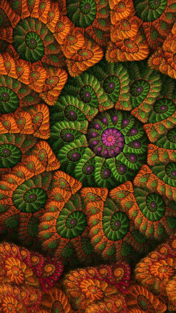 3D Colors Circle HD Wallpaper 1080x1920 600x1067 - 3D Colors Circle HD Wallpaper - 1080x1920