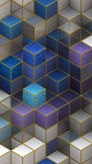 3D Cubes Cubic Square HD Wallpaper 1080x1920 300x533 - 3D Wallpapers