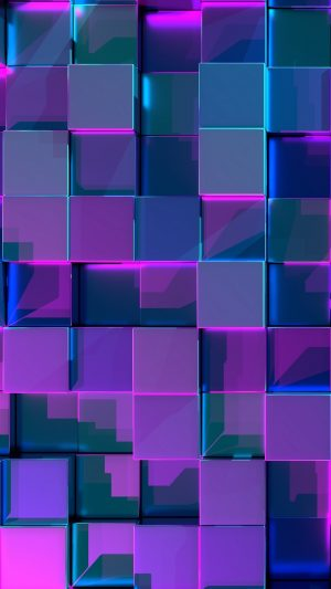 3D Cubes Surface Rendering HD Wallpaper 1080x1920 300x533 - 3D Wallpapers