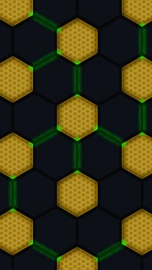 3D Hexagons Diagram Circles HD Wallpaper 1080x1920 300x533 - 3D Wallpapers