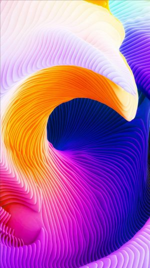3D Relief Surface Sinuous HD Wallpaper 1080x1920 300x533 - 3D Wallpapers