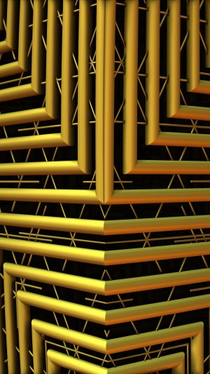 3D Shape Pipes Lines HD Wallpaper 1080x1920 300x533 - 3D Wallpapers