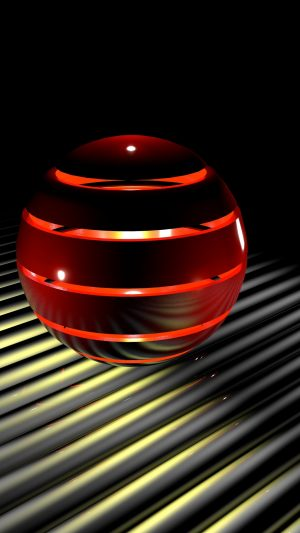 3D Sphere Light 3d Ball HD Wallpaper 1080x1920 300x533 - 3D Wallpapers