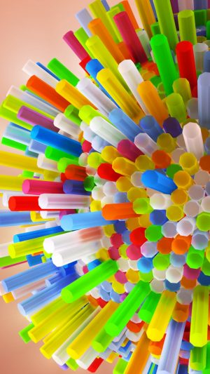 3D Tubes Colorful HD Wallpaper 1080x1920 300x533 - 3D Wallpapers