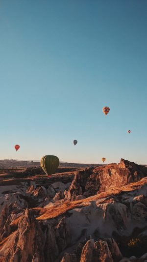 Air Balloons Mountains Flight Wallpaper 1080x1920 300x533 - Nature iPhone Wallpapers