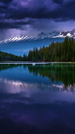 Alberta Canada Valley Of Five Lakes Lake Mountains Wallpaper 1080x1920 300x533 - Nature Wallpapers