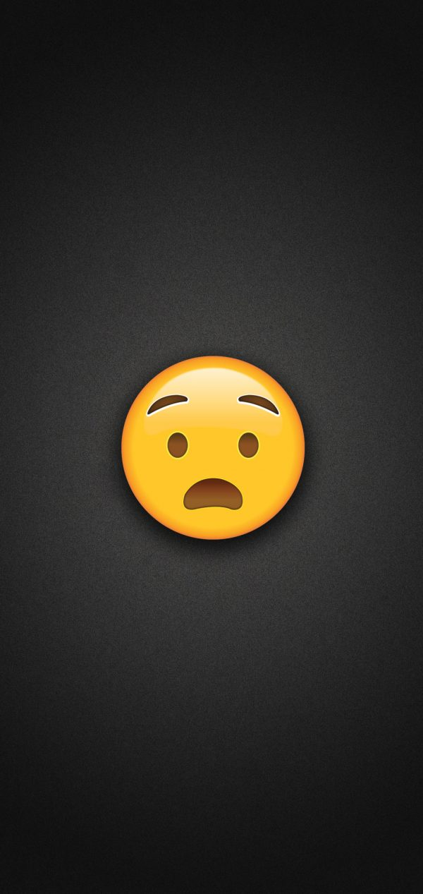 Anguished Face Emoji Phone Wallpaper 600x1267 - Anguished Face Emoji Phone Wallpaper