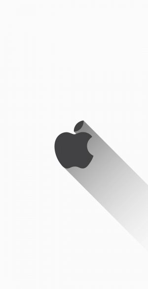 Apple Iphone Black Logo Wallpaper 1080x2340  300x585 - White iPhone Wallpapers