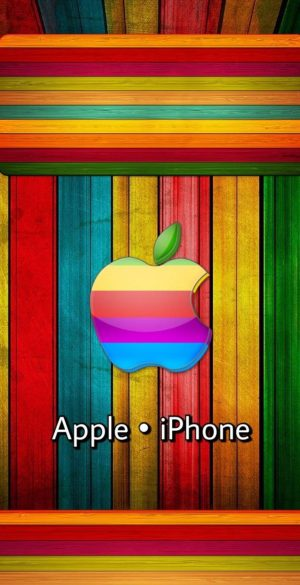Apple iPhone Colorful Lock Screen Wallpaper 300x585 - Lock Screen Wallpapers