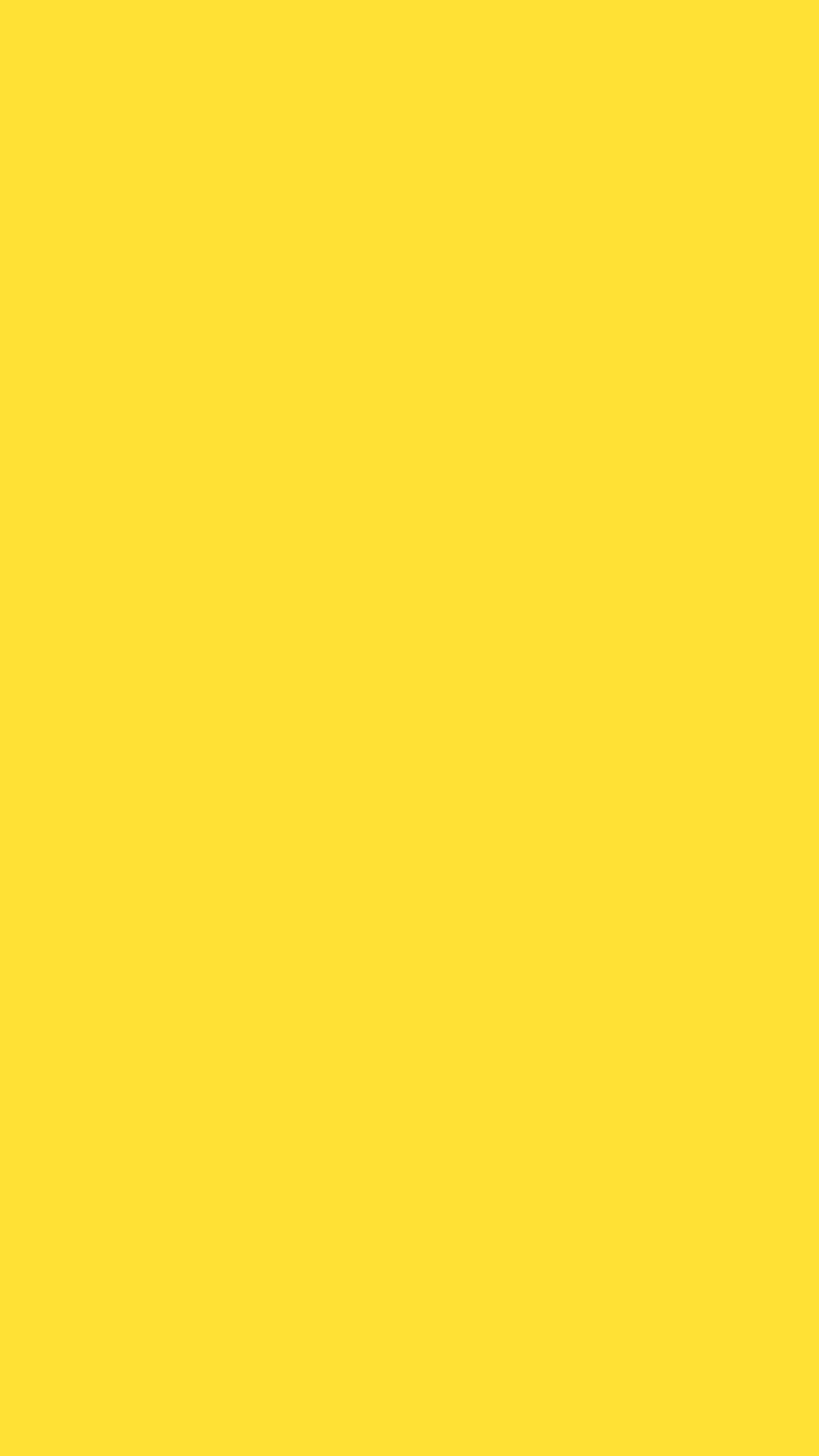 Banana Yellow Solid Color Background Wallpaper for Mobile ...
