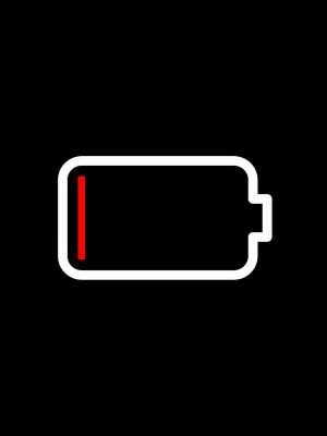 Battery Minimal Background HD Wallpaper 300x400 - Minimal Wallpapers