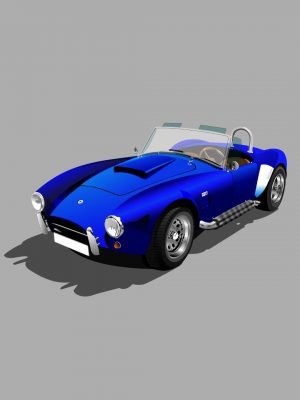 Blue Car Minimal Background HD Wallpaper 300x400 - Minimal Wallpapers