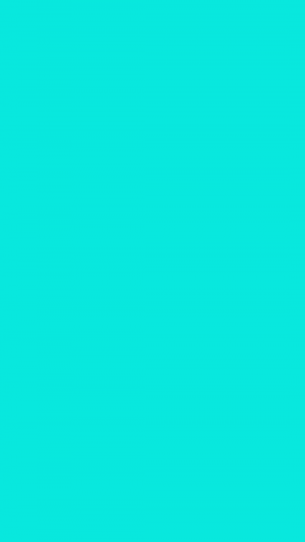 Bright Turquoise Solid Color Background Wallpaper for Mobile Phone 600x1067 - Bright Turquoise Solid Color Background Wallpaper for Mobile Phone