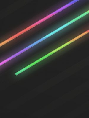 Color Lights Minimal Background HD Wallpaper 300x400 - Minimal Wallpapers
