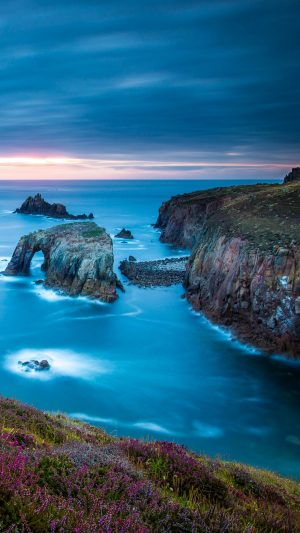 Cornwall England Celtic Sea Cape Lands Wallpaper 1080x1920 300x533 - Nature Wallpapers