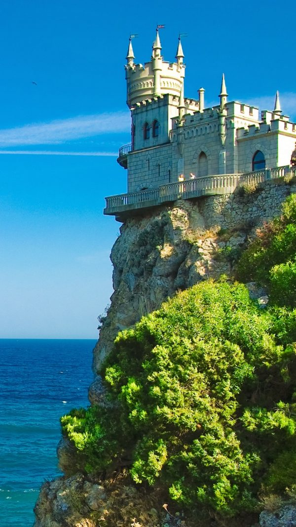 Crimea Swallows Nest Sea Wallpaper 1080x1920 600x1067 - Crimea Swallows Nest Sea Wallpaper - [1080x1920]