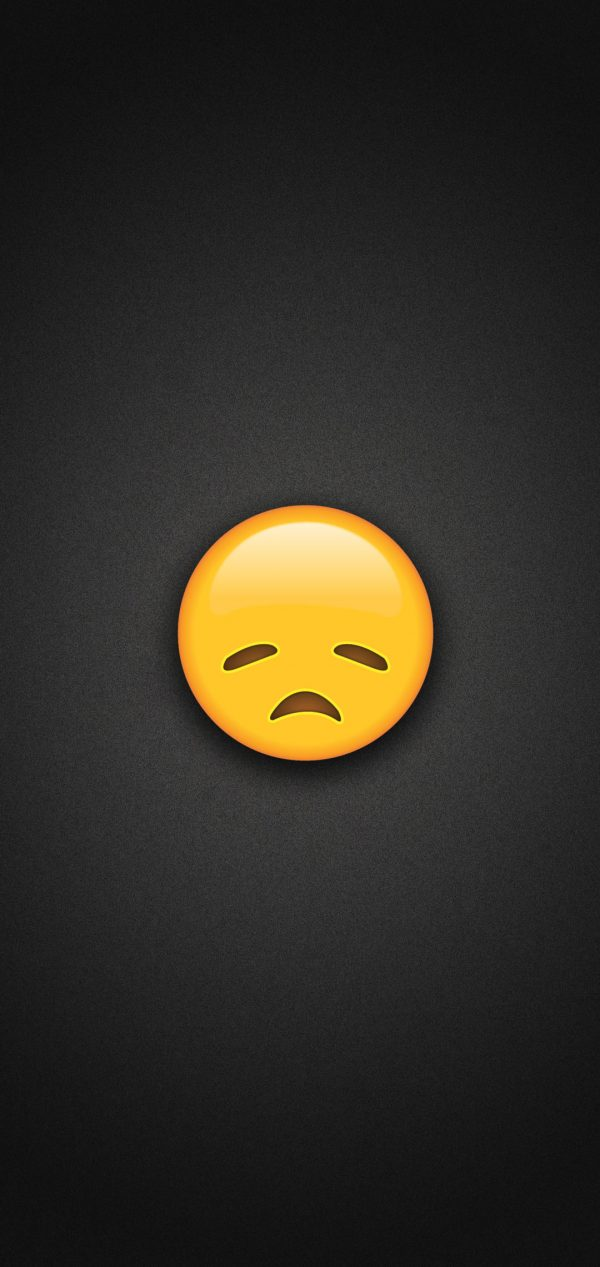 Disappointed Face Emoji Phone Wallpaper 600x1267 - Disappointed Face Emoji Phone Wallpaper