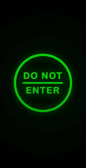 Do Not Enter Green Wallpaper 886x1920  300x585 - Lock Screen Wallpapers