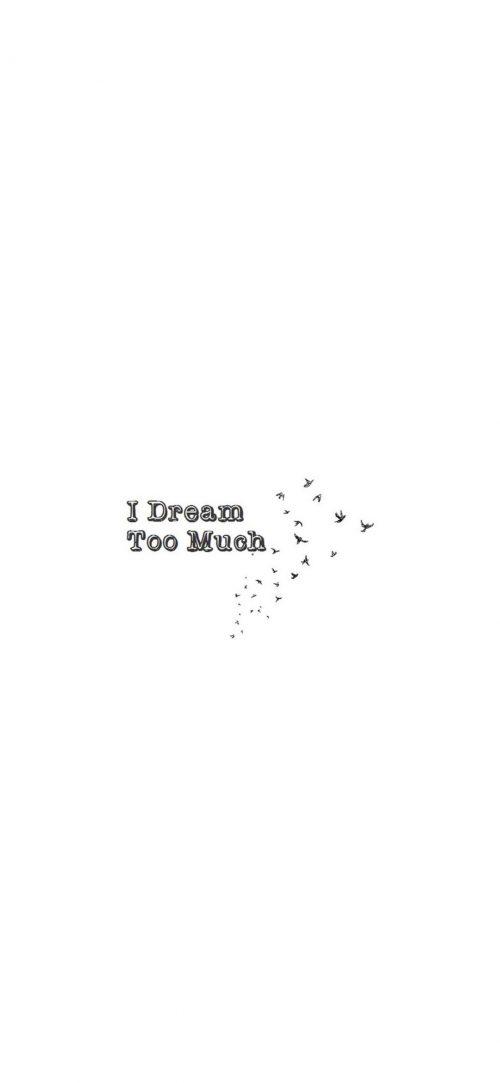 Dream Too Much Wallpaper 1080x2340  500x1083 - Dream Too Much Wallpaper - 1080x2340