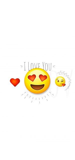 Emoji Phone Wallpaper 17 300x633 - White Wallpapers