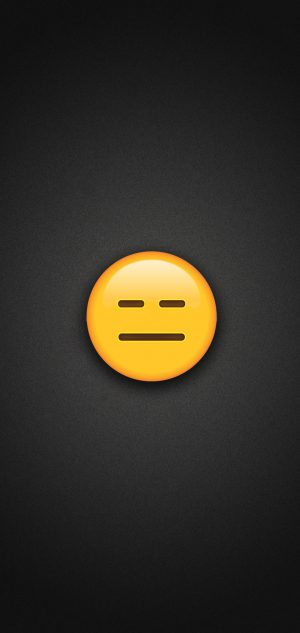 Expressionless Face Emoji Phone Wallpaper 300x633 - Emoji Wallpapers