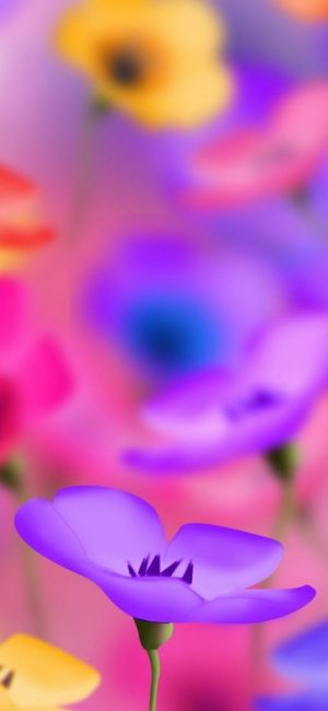 Flower HD Phone Wallpaper 028 300x650 - Flower Wallpapers