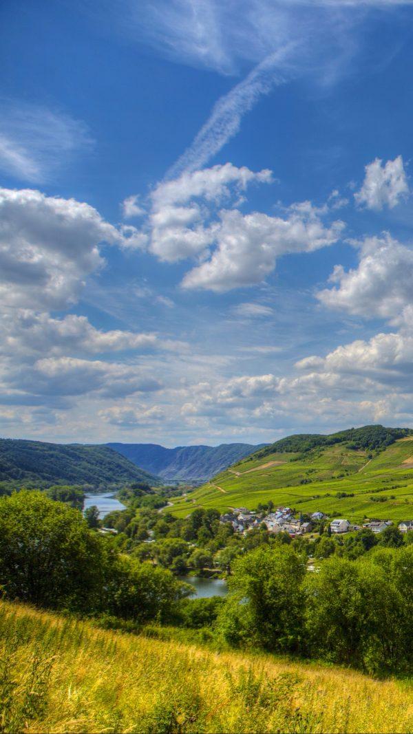 Germany Sinsheim River Sky Wallpaper 1080x1920 600x1067 - Germany Sinsheim River Sky Wallpaper - [1080x1920]