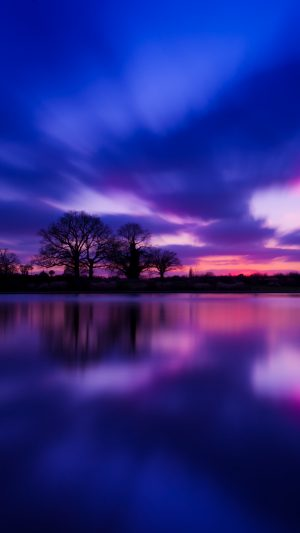 Great Britain Evening Twilight Lake Water Smooth Wallpaper 1080x1920 300x533 - Nature Wallpapers