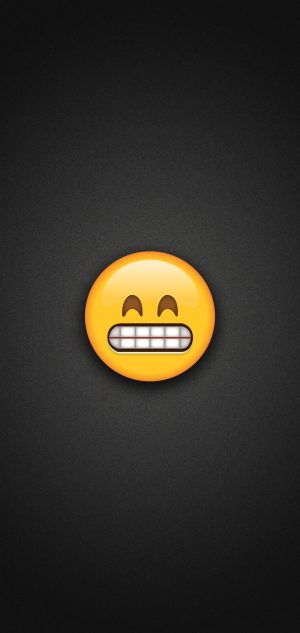 Grinning Emoji with Smiling Eyes Phone Wallpaper 300x633 - Emoji Wallpapers
