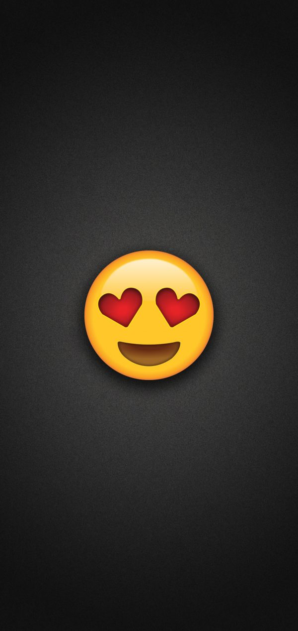 Heart Eyes Emoji Phone Wallpaper 600x1267 - Heart Eyes Emoji Phone Wallpaper