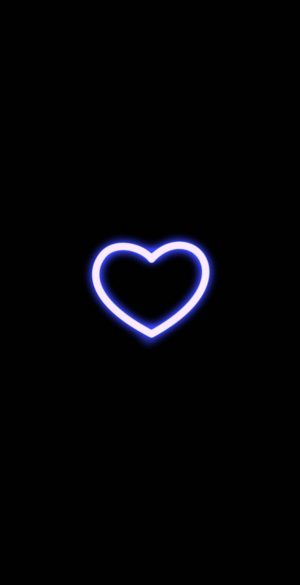Heart Glow Wallpaper 1056x2289  300x585 - Lock Screen Wallpapers