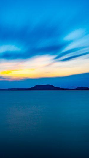 Horizon Mountains Sea Blue Wallpaper 1080x1920 300x533 - Nature Wallpapers