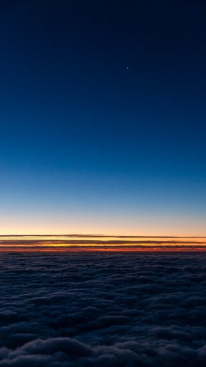 Horizon Sky Clouds Sunset Wallpaper 1080x1920 300x533 - Nature Wallpapers
