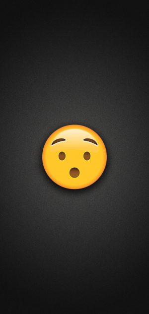 Hushed Face Emoji Phone Wallpaper 300x633 - Emoji Wallpapers