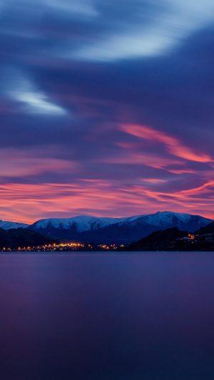 Lake Dawn Mountains Wallpaper 1080x1920 300x533 - Nature Wallpapers