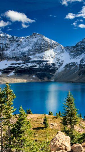 Lake Mountains Rocks Wallpaper 1080x1920 300x533 - Nature Wallpapers