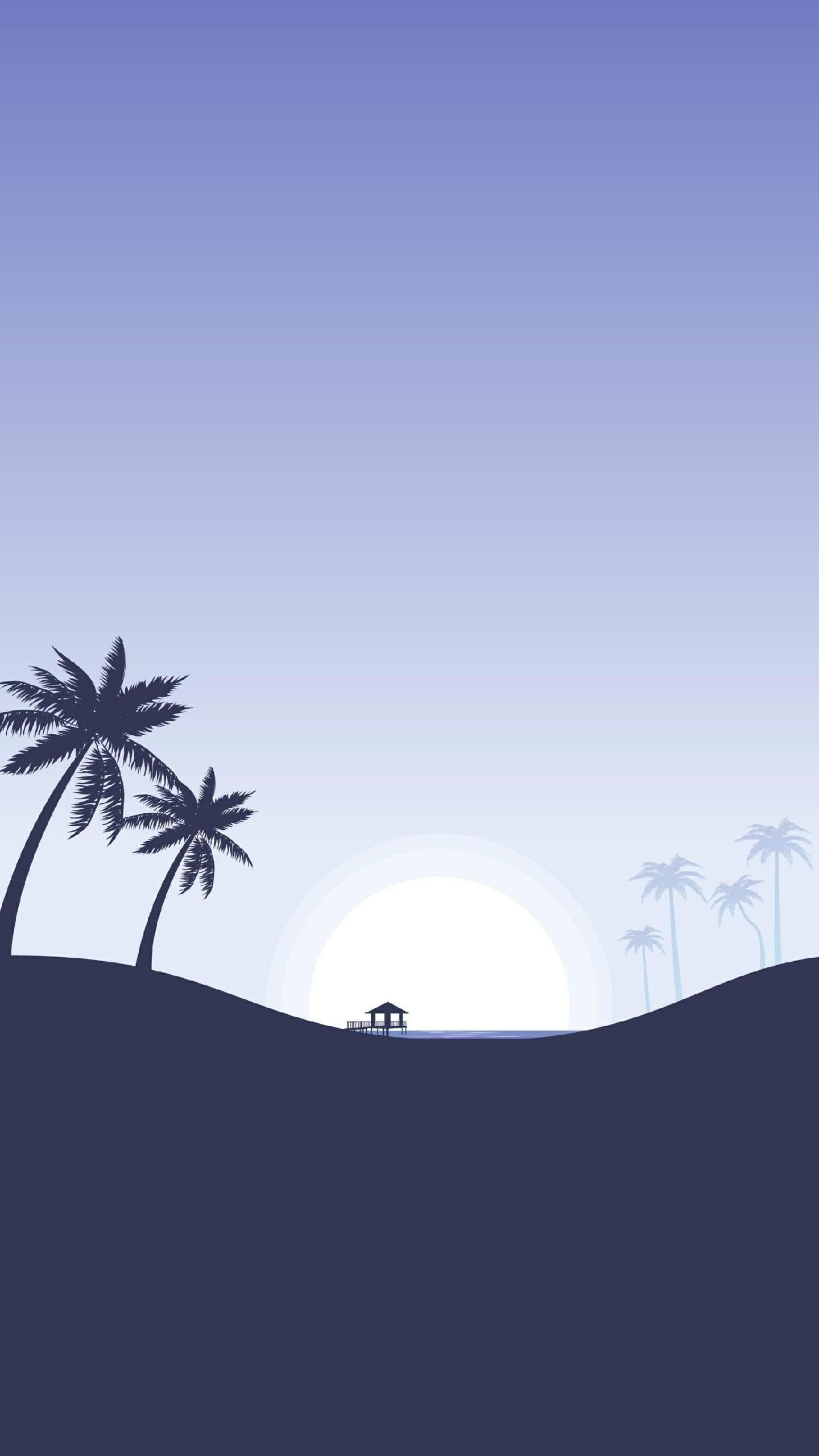 Landscape Minimal Background Hd Wallpaper