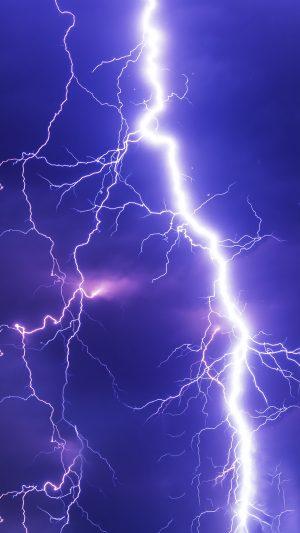 Lightning Thunderstorm Sky Cloudy Wallpaper 1080x1920 300x533 - Nature Wallpapers