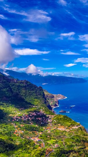 Madeira Portugal Island Sea Mountains Wallpaper 1080x1920 300x533 - Nature Wallpapers