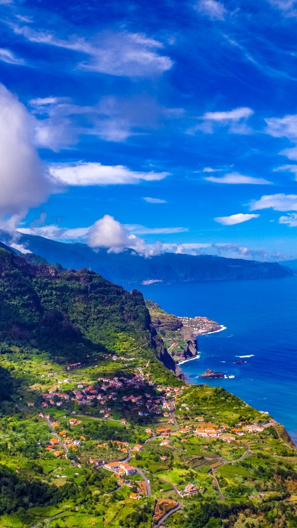 Madeira Portugal Island Sea Mountains Wallpaper 1080x1920 600x1067 - Madeira Portugal Island Sea Mountains Wallpaper - [1080x1920]